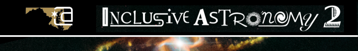 Inclusive Astronomy 2 Banner